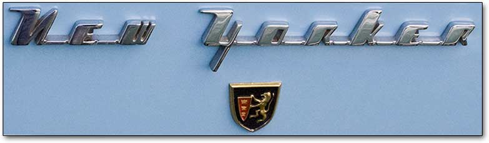 Chrysler New Yorker logo