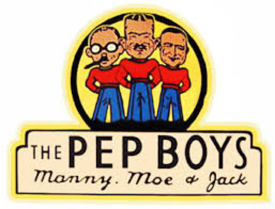 Older Pep Boys logo