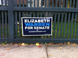 Warren Yard Sign - Before