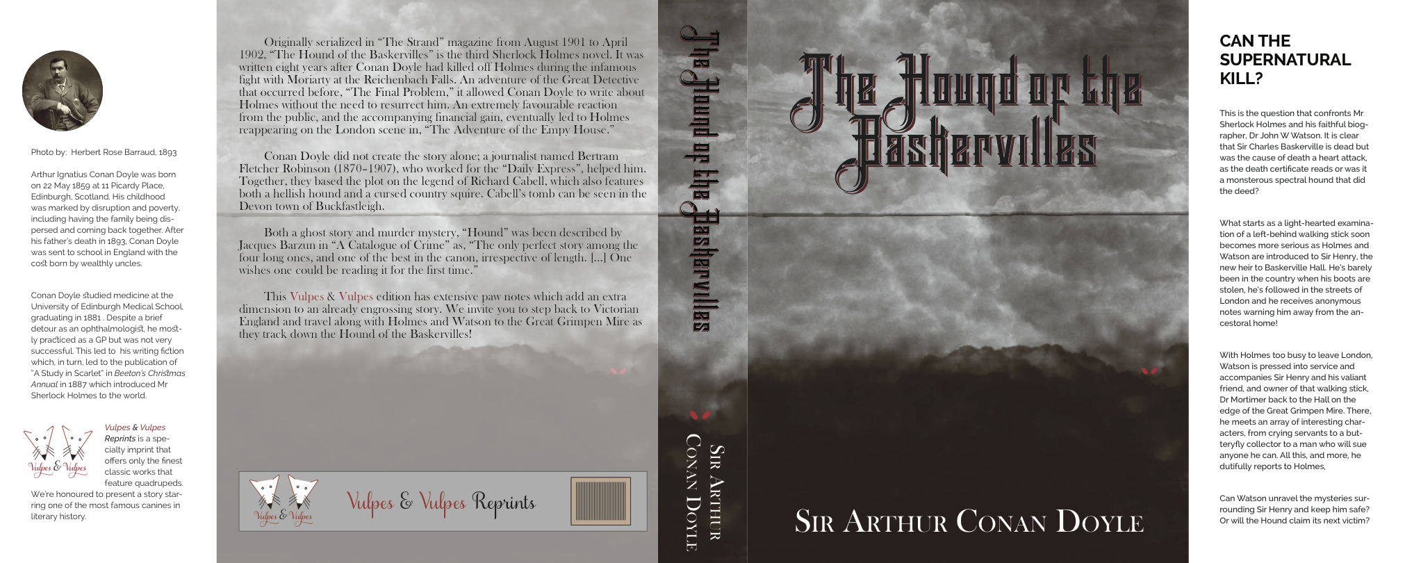 Final cover for The Hound of the Baskervilles