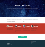 The Market Like a Boss page