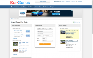 The Final Used Car Landing Page