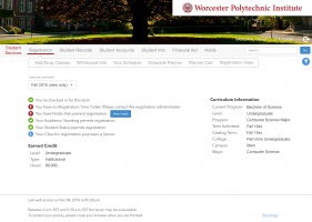 Redesigned Student Services Page
