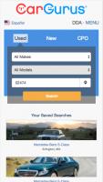 New CG Mobile Homepage